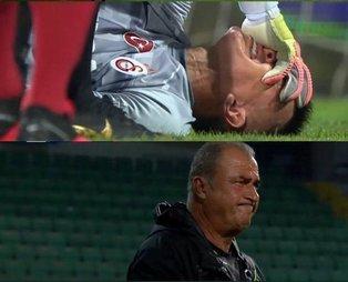 Son dakika: Galatasaray'da sakatlık şoku: Fernando Muslera ambulansla hastaneye kaldırıldı