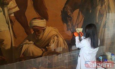 Felix-Auguste Clement'in Ceylan Avı tablosu Türkiye'de sergilenmek için gün sayıyor