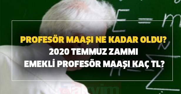 Profesör maaşı ne kadar oldu?