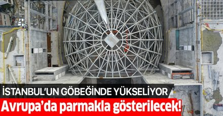 Atatürk Kültür Merkezi'nin kaba inşaatı tamamlandı! İşte ilk görüntüler