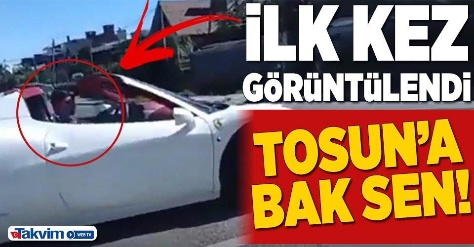 Mehmet Aydın ilk kez görüntülendi! Ferrarisiyle Uruguay sokaklarında...