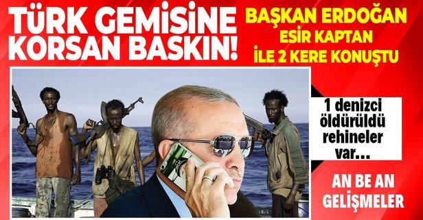 Nijerya açıklarında Türk gemisine baskın
