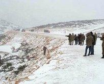 Ispartada askeri araç devrildi: 3 yaralı