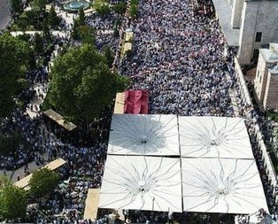 Binlerce insan törene akın etti!
