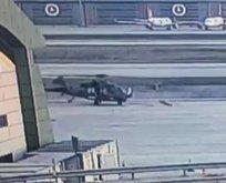 Helikopter kazasının  videosu ortaya çıktı