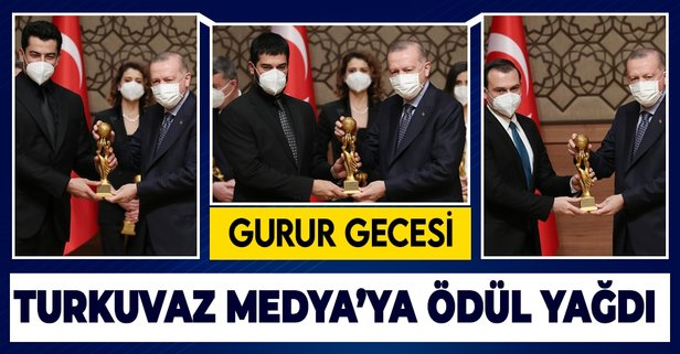 Turkuvaz Medya ödül törenine damga vurdu