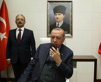 Başkan Erdoğan'dan mürettebata başarı dileği