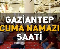 Gaziantep'de cuma namazı saat kaçta?