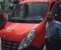 CHP'nin aracında Demirtaş'ın şarkısı çalındı