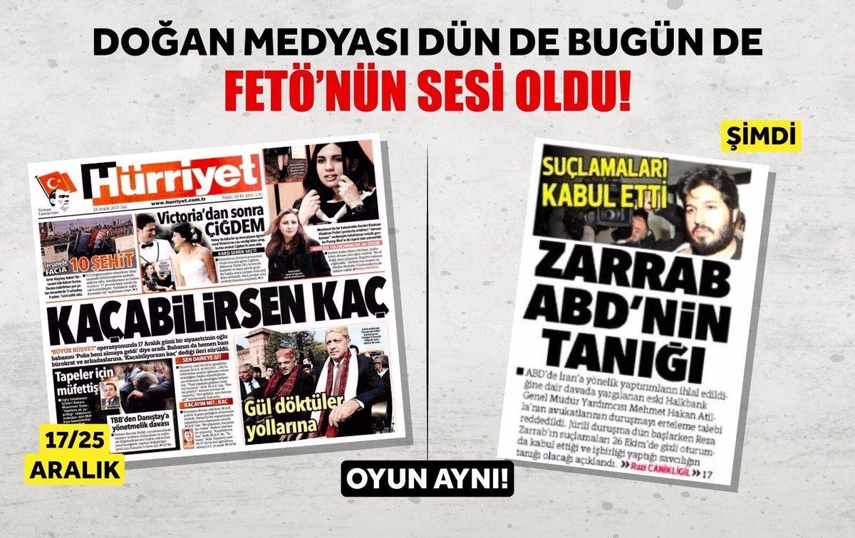 Kumpasın ortakları Doğan Medya-FETÖ-Kılıçdaroğlu