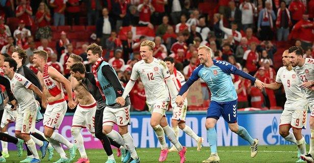 Danimarka Rusya'yı farklı yendi