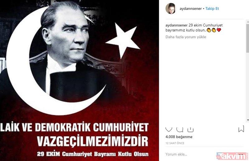 ünlü Isimlerin 29 Ekim Cumhuriyet Bayramı Paylaşımları Galeri Takvim