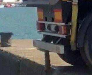 Denize atık boşaltan firmaya para cezası