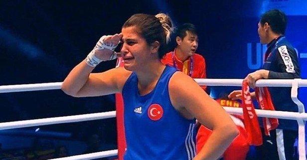 Dünya şampiyonu oldu... Mehmetçik'e selam yolladı