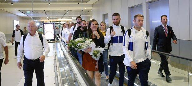 Chelsea Süper Kupa Finali için İstanbul'a geldi