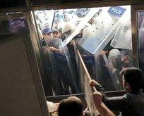 HDP'li vekillerden polise saldırı!