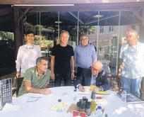 Onursal Başkan Erzik Güneş'i ziyaret etti