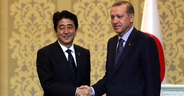 Şinzo Abeden Erdoğana seçim zaferi tebriği