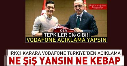 Irkçı karara Vodafone Türkiye'den açıklama geldi