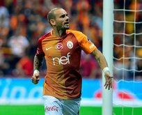 Wesley Sneijder'e sürpriz talip