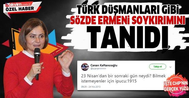 Kaftancıoğlu'ndan skandal Ermeni soykırımı paylaşımı