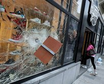 Brüksel'deki lüks mağazalar yağmalandı