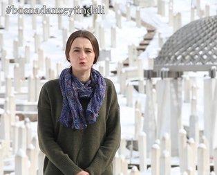 Bosna halkından Türkiyeye Zeytin Dalı desteği