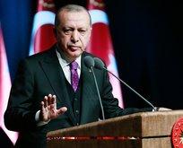 Başkan Erdoğan'dan CHP'ye Uzay Ajansı eleştirisi