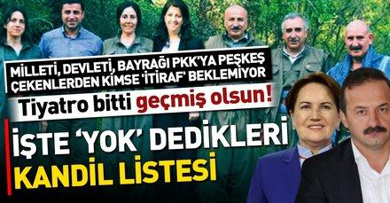 İYİ Parti'nin listesinde yer alan PKK'lı isimler gündeme bomba gibi düştü!  Yavuz Ağıralioğlu'ndan skandal yalanlama