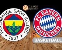 Fenerbahçe - Bayern Münih basketbol maçı hangi kanalda?