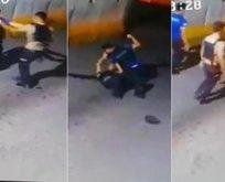 Kavga eden polis ile bekçi görevden uzaklaştırıldı