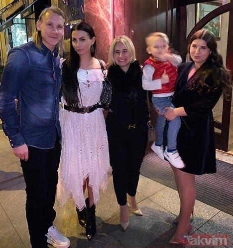 Domagoj Vida'nın eşi Ivana Vida paylaştı! Tüm ülke ayağa kalktı
