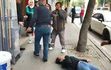 Eskişehir'de kadına şiddet! Tekme ve yumruklarla saldırdı