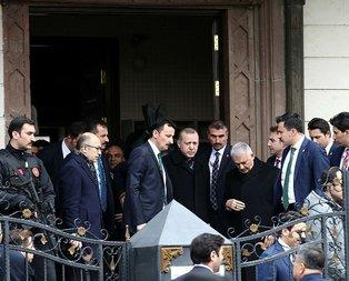 Erdoğan cuma namazında