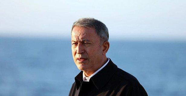 Bakan Akar'dan flaş Libya açıklaması