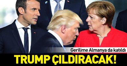 Trump bu kez küplere binecek! Gerilime Almanya da katıldı