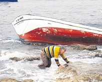 Teknesini batıran kaptan