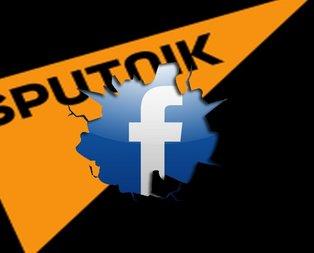 Facebook'tan Sputnik'e darbe! O hesapları sildi