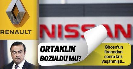 Son dakika: Renault ve Nissan ortaklığı bozuldu mu? Resmi açıklama geldi