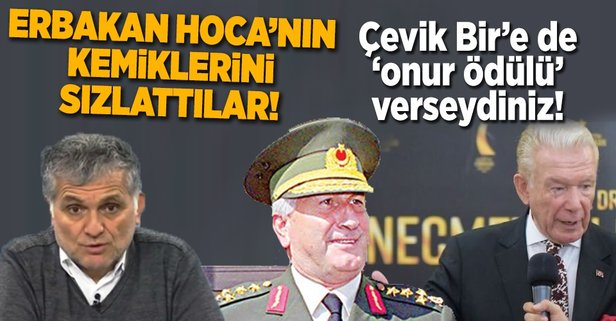 Erbakan Hoca'nın kemiklerini sızlattılar!