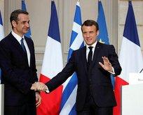 Macron haddini aştı! Küstah açıklama