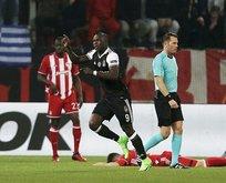 Beşiktaş, UEFA'da 1-1 ilerliyor!