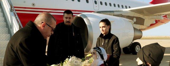 Başkan Erdoğan'ı Ordu'da böyle karşıladılar