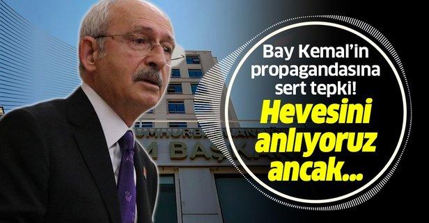 Kılıçdaroğlu'nun o iddialarına yalanlama