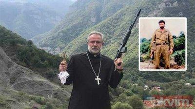Silahla poz veren bu papazı tanıdınız mı? Savaşın bitmesiyle yeniden gündem oldu
