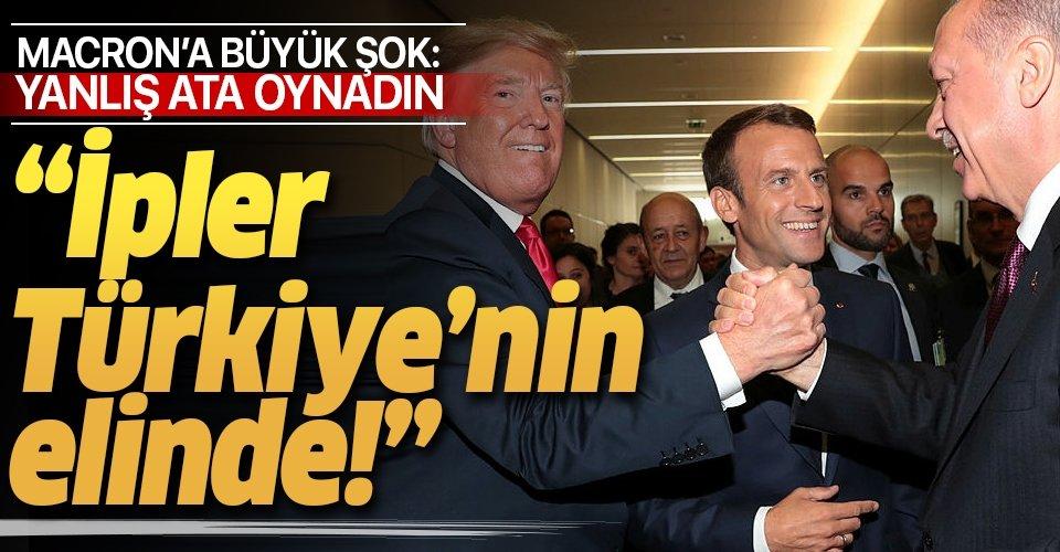 'Yanlış ata oynadın, ipler Türkiye'nin elinde!'