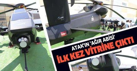 'Atak-2' ilk kez vitrine çıktı!