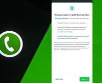 Sen neyin peşindesin! Whatsapp bilgileri paylaşacak mı?