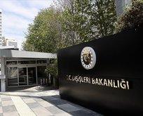 Türkiye'den skandal bildiriye sert tepki