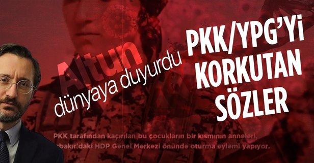 PKK/YPG'yi korkutacak sözler